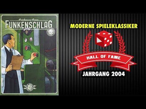 Funkenschlag - Hall of Fame Rezension - Moderne Spieleklassiker (Jahrgang 2004)
