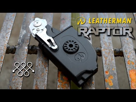 LEATHERMAN RAPTOR EMERGENCY SHEARS FOR EMERGENCY SITUATIONS
