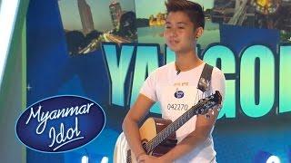 Myanmar Idol 2016   Aung Ko Oo   Yangon Auditions
