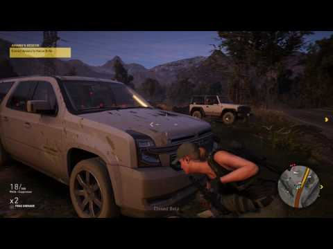 Tom Clancy's Ghost Recon: Wildlands  Beta gameplay 2 PS4 Pro