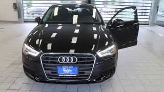 2016 audi a3 brilliant black stock 110652 walk around