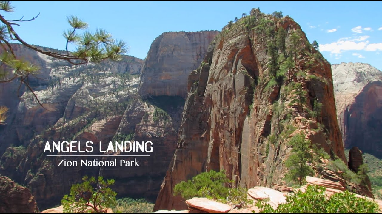 Angels Landing Zion National Park Preview Youtube