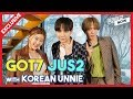 [Exclusive interview] GOT7 JUS2 with Korean Unnie