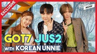 [Exclusive interview] GOT7 JUS2 with Korean Unnie