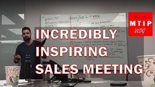 Michael Makabi, Founder of MTIP | 3 Hour Sales Meeting With His Team Down to 8 mins