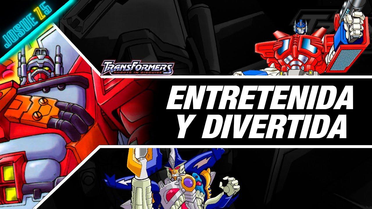 Transformers Robots In Disguise 2000 / Mi Opinión de la serie