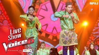 Video เปรี้ยว+แชมป์ - Dikir Puteri - Live Show - The Voice Thailand - 11 Feb 2018 download MP3, 3GP, MP4, WEBM, AVI, FLV Oktober 2018