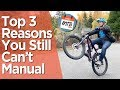 Top 3 Reasons People Can't Manual A Bike // A Complete How to Manual Tutorial