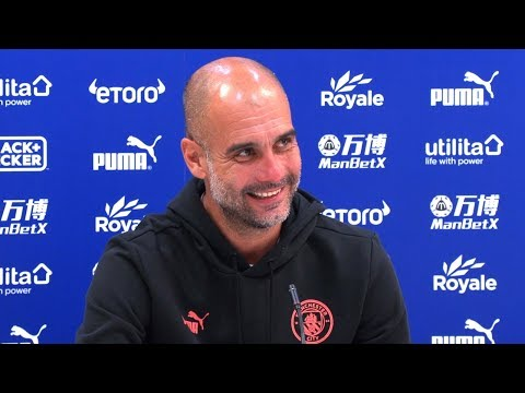 Crystal Palace 0-2 Man City - Pep Guardiola Post Match Press Conference - Embargo Extras