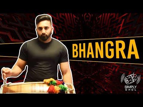 Bhangra (3 Basic Variations) [Simply Dhol #002]