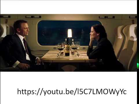 Разбор отрывка из CasinoRoyal: James Bond meets Vesper Lynd
