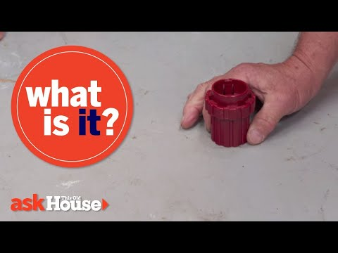 What Is It? | Red Plastic Cylinder