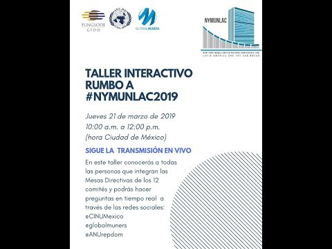 Taller interactivo rumbo a NYMUNLAC 2019