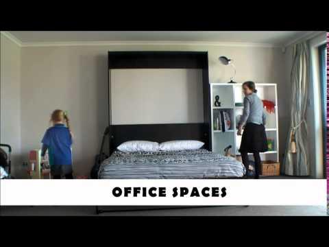 Como ganar espacio en un dormitorio peque o youtube for Como acomodar un cuarto pequeno
