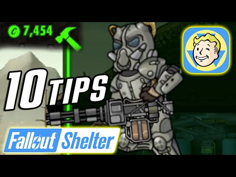 Fallout Shelter | 10 Tips, Tricks & Secrets To Get More Caps, Dwellers & Rank Up Fast!