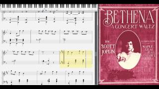 Bethena (Concert Waltz) by Scott Joplin, 1905