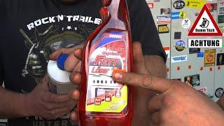 Motorspülung extrem - Rohrreiniger und Fettlöser im Motor | Dumm Tüch