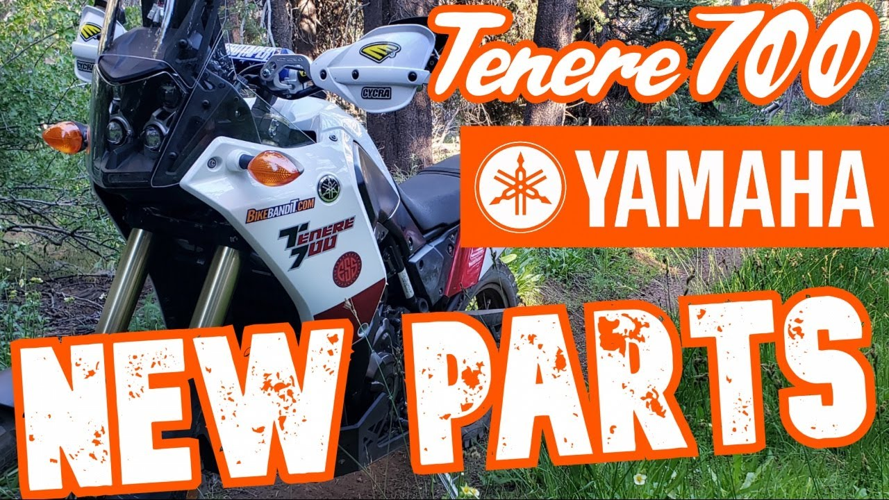 Yamaha Tenere 700 - New Parts plus SINGLETRACK !!!!