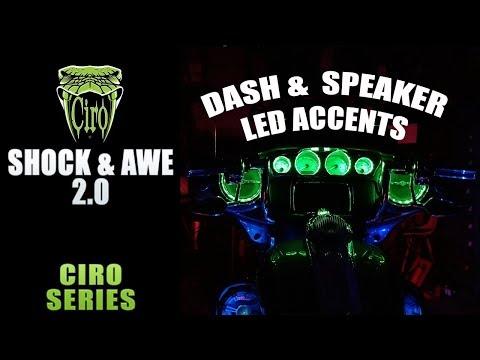 Ciro Shock & Awe LED Dash & Speaker Accent Install