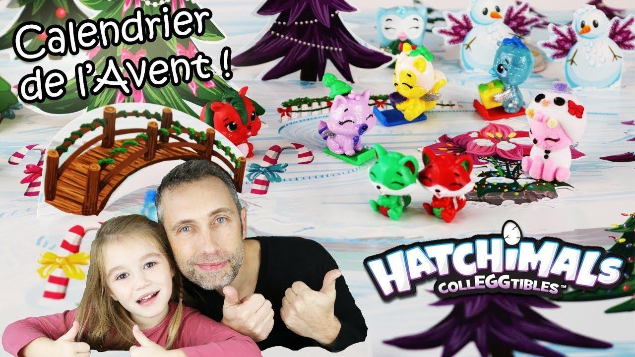 Calendrier De L Avent Hatchimals.Calendrier De L Avent Hatchimals On Ouvre Toutes Les Portes En Une Seule Fois Christmas