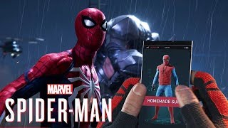 Spider-Man PS4 Has INSTANT Suit Switch! - Peter Parker Gameplay,Save Slots & More Gameplay Info!