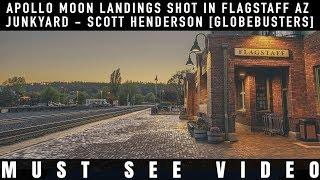 Apollo Moon Landings Shot in Arizona Junkyard [Globebusters Mirror]