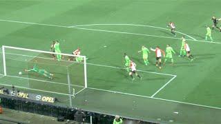 Doelpunt ( ook slomo ) Feyenoord - Ajax 28-10-2015, Legioen wordt gek!!!!