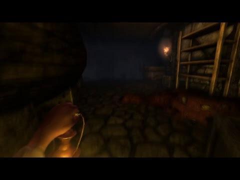 Amnesia: The Dark Descent. Ужасы из темноты.
