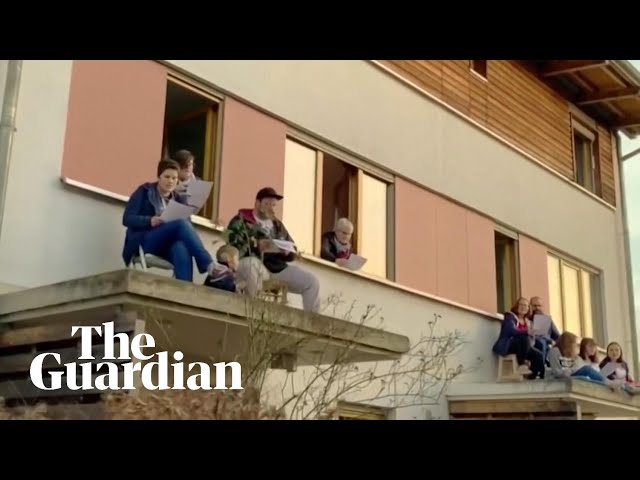 Coronavirus: Germans sing Bella Ciao from rooftops in solidarity with Italy