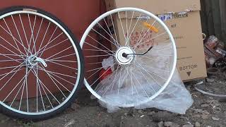Как из убитого велика сделать современный Электровелосипед