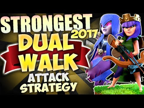 Thumbnail: STRONGEST TH9 War Attack Strategy: DUAL WALK 2017 / 3 Star any base! | Clash of Clans