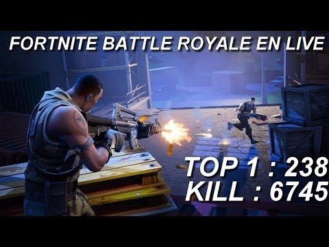[FR/PC/LIVE] Fortnite  en solo 238 wins!