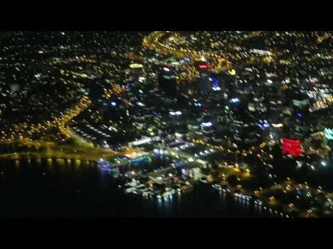 Perth City Scenic Flight at Night