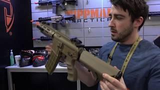 Tippmann AEGs and HPA Airsoft Guns - Shot Show 2018