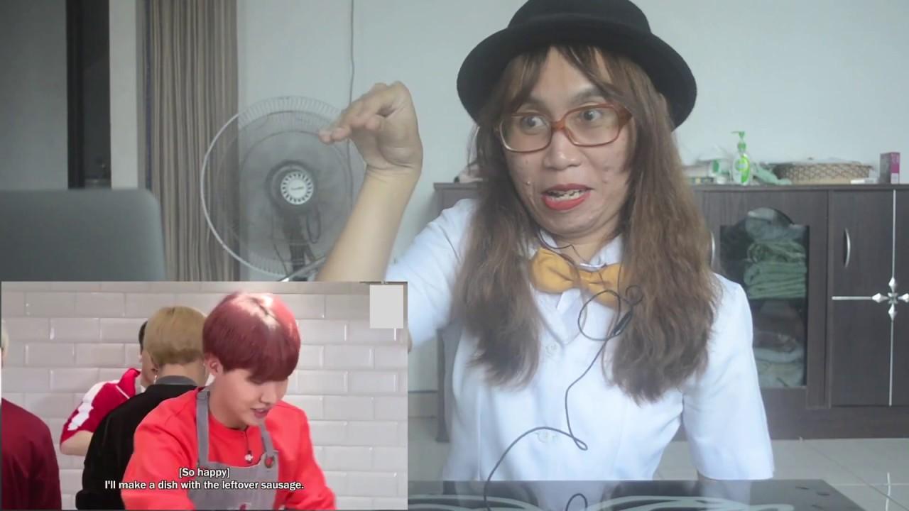 RUN BTS! EP  36 REACTION (김치전쟁 Pt II)
