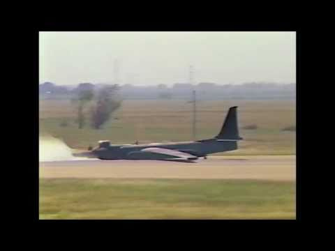 U-2 Landings, First Landing in U-2 and crash landings