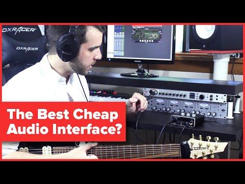 The Best Cheap Audio Interface? | Behringer U-Phoria UM2 USB Audio Interface Review And Demo