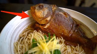 The world's first Marriage! ! The most Terrifying Piranha Ramen ever! !