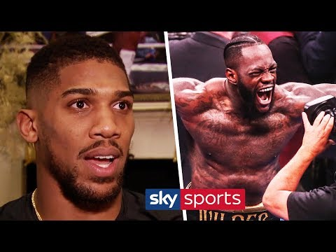 EXCLUSIVE! Anthony Joshua Hits Back At Claims He Doesn't Want To Fight Deontay Wilder
