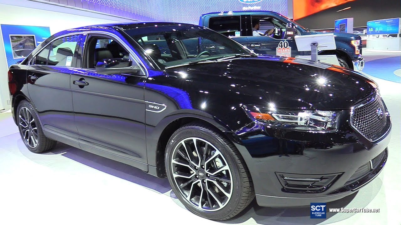 Ford Taurus SHO Exterior Walkaround New York Auto Show - Ford show car