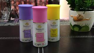 YARDLEY DEODORANT ROLL-ON