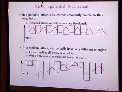 Colloquium: Arash Mafi - Embracing Disorder in Optics: Anderson Localization Optical Fibers