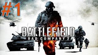 Battlefield Bad Company 2 - Part 1 - Walkthrough / Gameplay