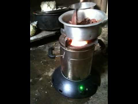 Smokeless Philips Cookstove in a Rwandan Home