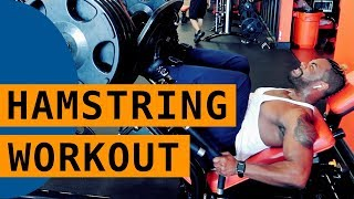 Hamstring Workout Summary by ABFF Pro Bodybuilder Kevin Smith