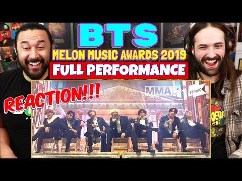 BTS (방탄소년단) Melon Music Awards 2019 | Full Performance - REACTION!!!