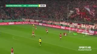 Melhores Momentos  BORUSSIA DORTMUND 3X2 BAYERN DE MUNIQUE   Copa da Alemanha 26/04/2017