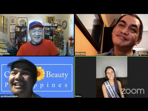 Critical Beauty Team Chats With Rabiya Mateo - Miss Universe Philippines 2020 - Dec. 11, 2020