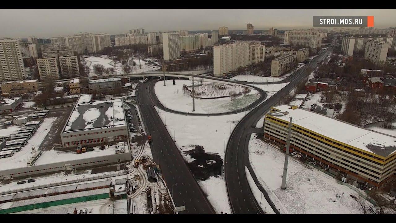 схема юго-восточная хорды в москве