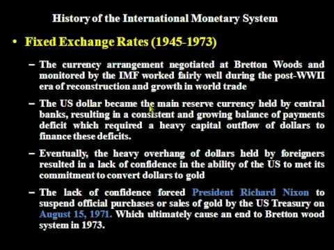 IntFin-02- International Monetary Systems (Part-I)